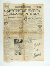 krant Daily Mail - 3 May 1945 - NAAFI Issue - origineel