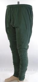 KLU Koninklijke Luchtmacht brandwerend onderbroek lange pijpen zomer sage green - gebruikt - meerdere maten - origineel