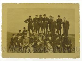 WO2 Duitse foto SS - 9,5 x 6,5 cm - origineel