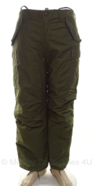 US Army Field Trouser met liner groen - M65 - size Regular/Medium - origineel