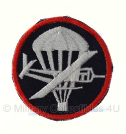 Overseas cap insigne (zwart) - officieren