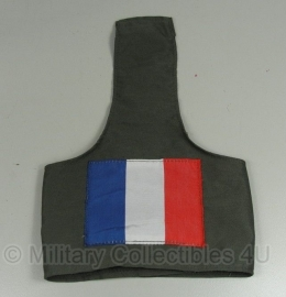 Franse leger groene armband - met Franse vlag - origineel