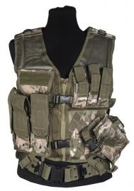 USMC vest met koppel - Multicamo