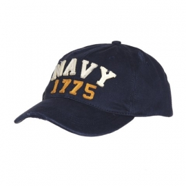 Baseball cap - Stonewashed - navy