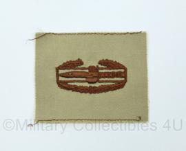 US Army Desert borst Qualification Badge - Combat Action badge - origineel