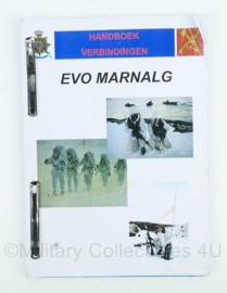 Korps Mariniers handboek elementaire vakopleiding EVO Marnalg - 56 pagina's - origineel
