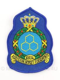 KLU Luchtmacht KKSL KKSL Koninklijke Kaderschool Luchtmacht embleem - 8 x 11 cm - origineel