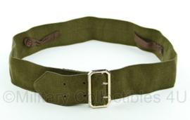 US Army/Britse leger Class A DT jas centuur - 96x5  cm - origineel