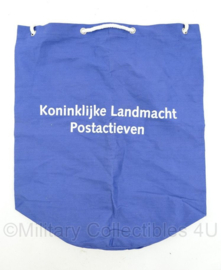 Koninklijke Landmacht Postactieven rugzak blauw- nieuw - 44 x 38,5 cm - origineel