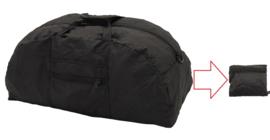 Opvouwbare 42 liter sporttas zwart Compact Black - 63 x 26 x 29 cm / 17 x 17 x 6 cm !