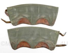 MVO jaren 50 beenkappen - lijkt op Wo2 Duits - 34,5 x 14,5 cm - origineel