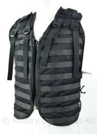 Defensie KCT speciaal model zwart opbouwvest Molle - met ritssluiting - verstelbaar - origineel