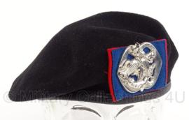 KL Nederlandse leger Cavalerie Regiment Huzaren Prins Alexander baret - meerdere maten - origineel