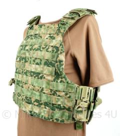 Nederlandse Leger NFP multitone  LCV plate carrier vest MOLLE - nieuwe model - maat Large - origineel