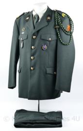 Zeldzame KCT Korps Commando Troepen DT2000 set - met eenheidskoord, parawing MLV speld - Korporaal der 1e klasse - maat 56 1/4 - origineel