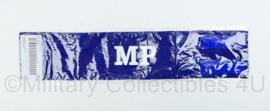 KMAR Marechaussee Military Police - stoffen armband - 48,5x10x0,2 cm- nieuw in verpakking- Origineel