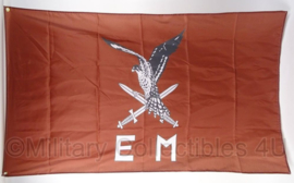 KL Landmacht 11e Luchtmobiele Brigade vlag - polyesther - afmeting 90 x 150 cm - nieuw gemaakt