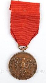 Poolse medaille 1938 Wiecznie  Znami- afmeting 4 x 10 cm - origineel