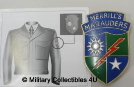 """Special forces """"merrils marauders"""" badge"""