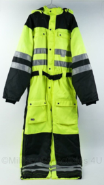 K Wear industriele overall - geel reflecterend - maat 56 of XL- origineel