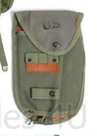 M56 US klapschep hoes  / schephoes Carrier Entrenching tool M-56 - laat model  replica