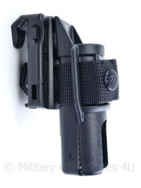 Politie en Kmar ESP LH-04 tactical torch holster zaklamp koppelhouder  - 12 x 5,5 x 6 cm- origineel
