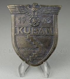 Kuban schild metaal