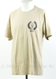 Defensie T-shirt PRT-9 missie  - maat L - origineel