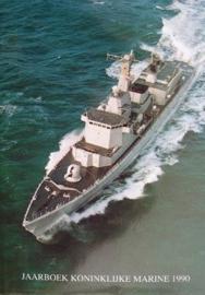 Jaarboek Koninklijke Marine 1990 - hardcover - origineel