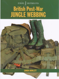 British post war jungle webbing