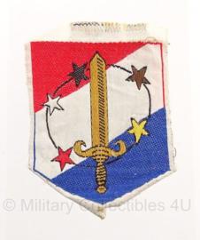 TRIS embleem Suriname - 6 x 8 cm - origineel