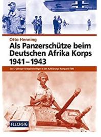 Boek Als Panzerschütze beim Deutschen Afrika Korps 1941-1943