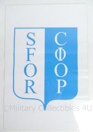 Stabilization Force Voertuig Sticker - 30 x 20 cm - origineel