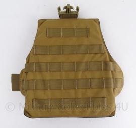 Nederlands leger Huidig model Leg pouch (beentas) MOLLE - coyote - origineel