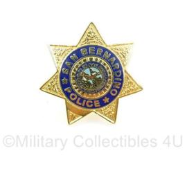 San Bernadino Police Department speld  - origineel