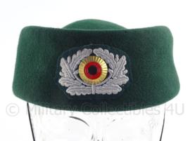 Duitse Bundespolizei BGS dameshoed - maat 59 - Origineel