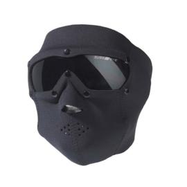 SwissEye masker Neopreen - zwarte glazen