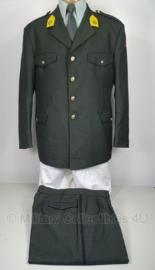 KL Nederlandse leger DT2000 uniform jas met broek - maat jas 52 en broek 50 - technische troepen - origineel