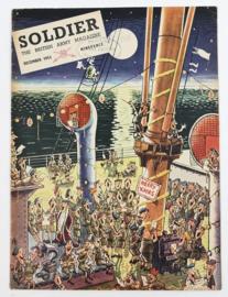 The British Army Magazine Soldier December 1953 -  Afkomstig uit de Nederlandse MVO bibliotheek - 30 x 22 cm - origineel