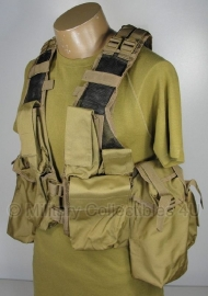 Tactical vest 12 pockets - Coyote