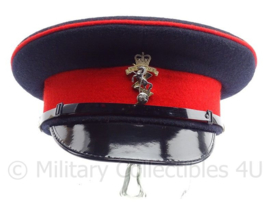 Britse leger REME (royal electrical and mechanical engineers) visor cap met insigne - maat 56 -  origineel