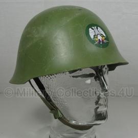 Servische helm M59/89 - MET burgeroorlog embleem - origineel