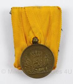 KL Landmacht Trouwe Dienst medaille Brons - 12 jaar trouwe dienst - afmeting 4 x 6 cm - origineel