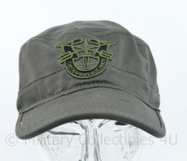 US Special Forces Cap met geborduurd logo DE OPPRESSO LIBER - GREEN