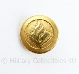Politie kleine knoopjes goudkleurig - diameter 1,5 cm - origineel