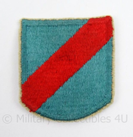 US Army Special Forces baret insigne 20th SFGA flash patch - afmeting 5 x 6 cm - origineel
