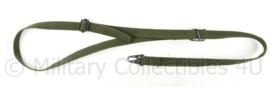 Defensie MP5 draagriem groen Webbing - 109 x 2,5 cm - origineel