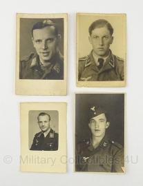 4 WO2 Duitse Luftwaffe Foto's - orgineel
