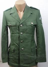 Bundesgrenzschutz BGS uniform jas + emblemen met broek - 94 cm. borst - origineel