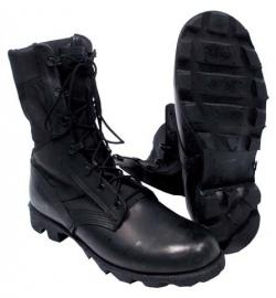 US Army en korps mariniers  jungle boots WELLCO - zwart - meerdere maten - met Panama zool - ONGEBRUIKT - origineel